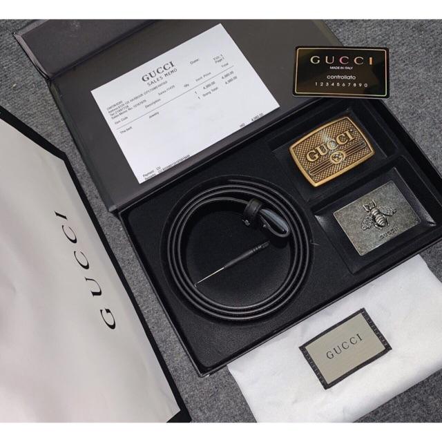 Thắt lưng Gucci luôn được bán ra với giá phù hợp kèm phiếu bảo hành