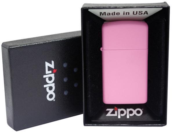 ZiPPO Slim Pink Matte được phái nữ ưa chuộng