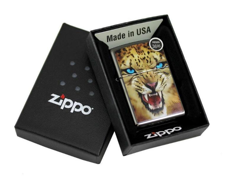 Hộp đựng cao cấp bọc nhung bên trong của sản phẩm ZiPPO thật