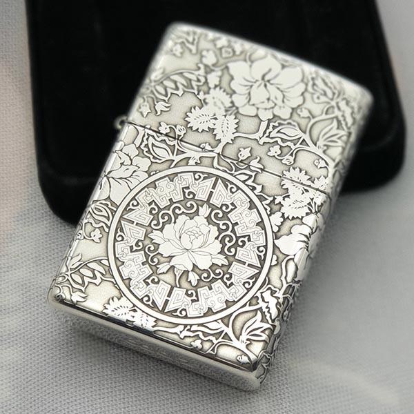 Bật lửa ZiPPO sterling silver sang trọng, bền đẹp
