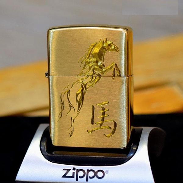 """ZiPPO la mã hình con ngựa, cho giả chủ thêm """"mã đáo thành công"""" có bán tại ZiPPO Thanh Hóa"""