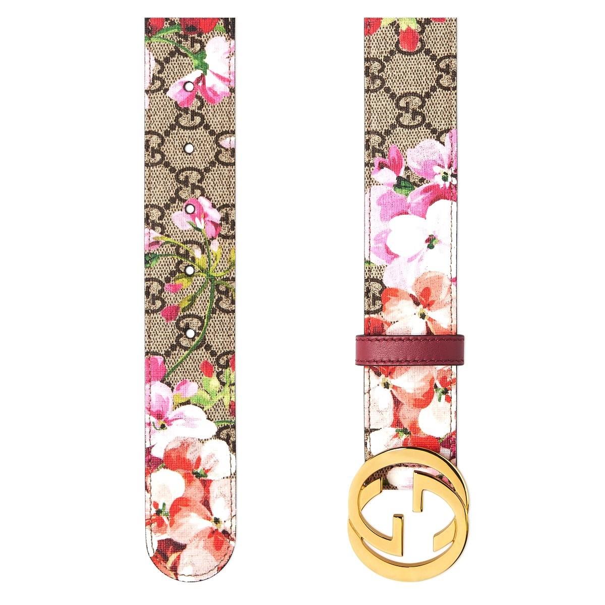 Liệu có ai thoát khỏi sự quyến rũ của một mẫu thắt lưng Gucci hoa hoàn hảo nhường này?