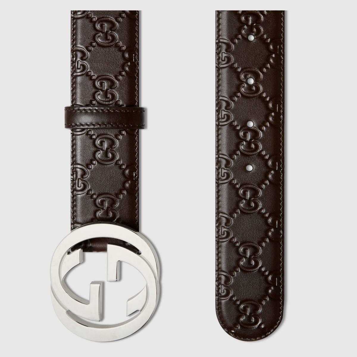 Thắt lưng Gucci thật luôn sắc sảo và tỉ mỉ trong từng đường kim mũi chỉ