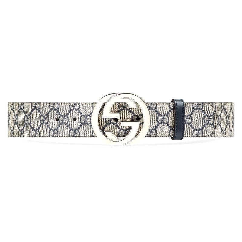 Mẫu dây nịt da Gucci vải canvas độc đáo