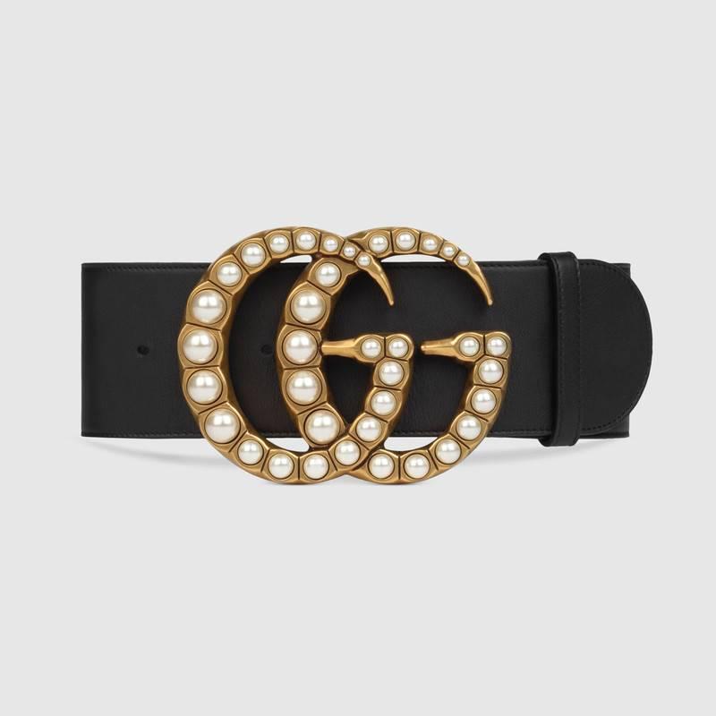 Thắt lưng Gucci thật có đầu khóa được chạm khắc vô cùng cầu kỳ, tinh xảo