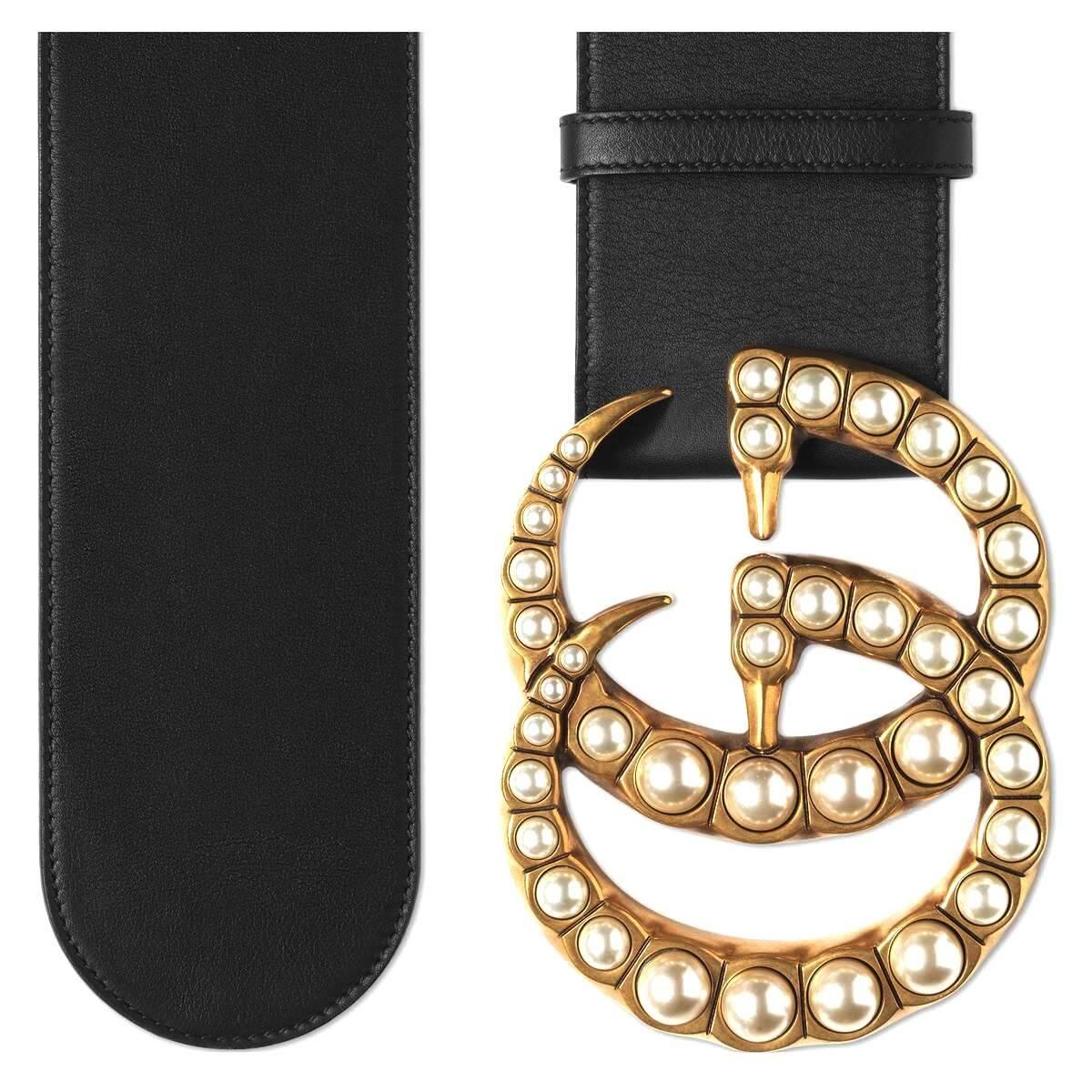 Thắt lưng Gucci nữ bản to được đánh giá rất cao về độ bền