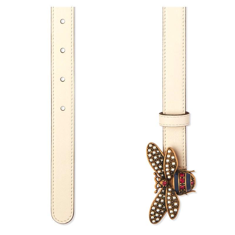 Thắt lưng Gucci được làm từ da thật, độ mềm mại và dẻo dai số một
