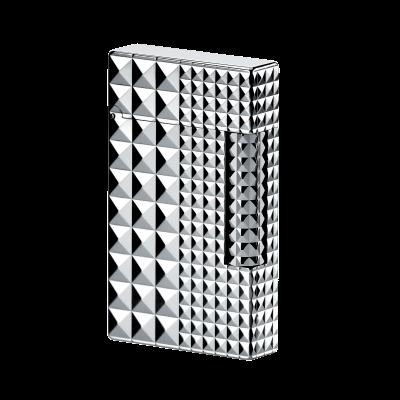 Bật lửa Dupont mang thiết kế giản đơn và tinh tế với màu bạc nổi bật