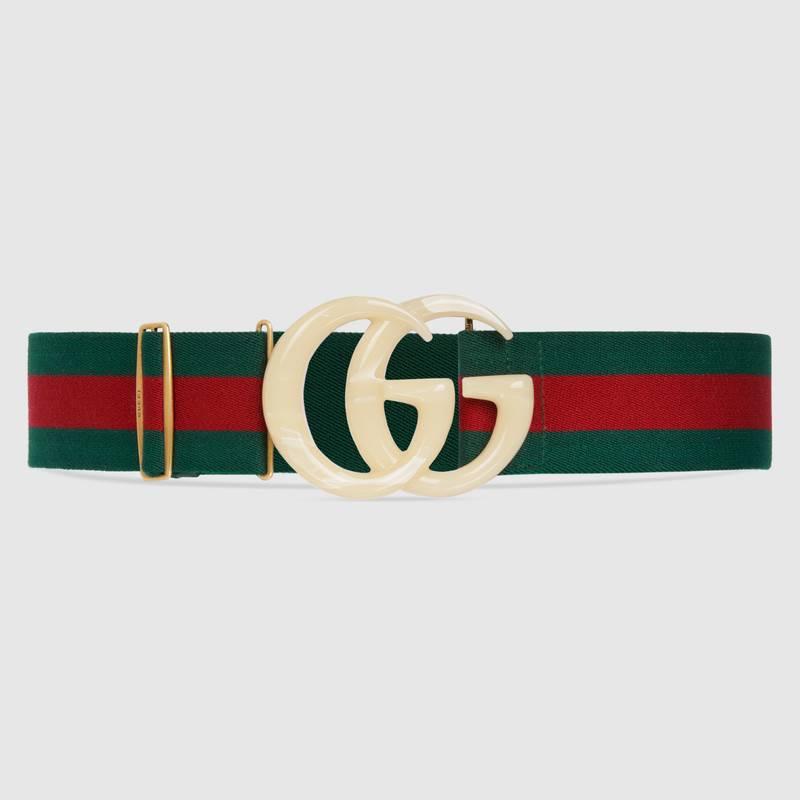 Màu sắc của logo, hình ảnh trên thắt lưng Gucci