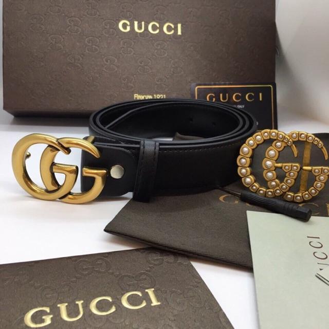 Chất liệu chế tác cao cấp của thắt lưng Gucci nữ 2 mặt