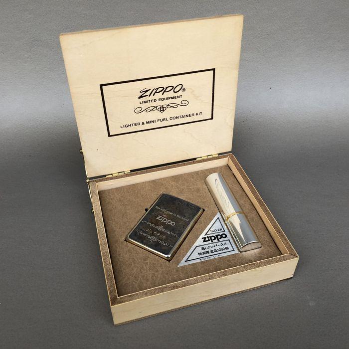 Bật lửa mua ở thị trường ZiPPO Long An hàng new 100% phải còn full box