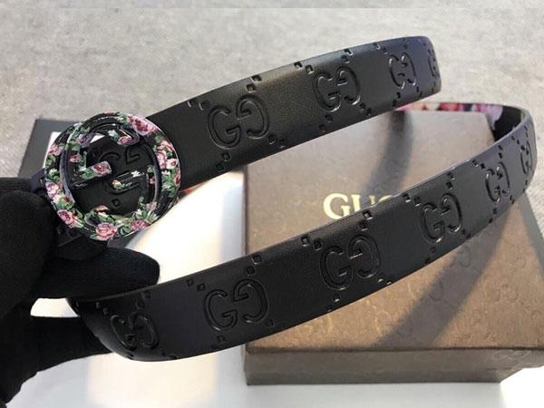 Xuất hiện nhiều mẫu hàng nhái thắt lưng Gucci tại Việt Nam