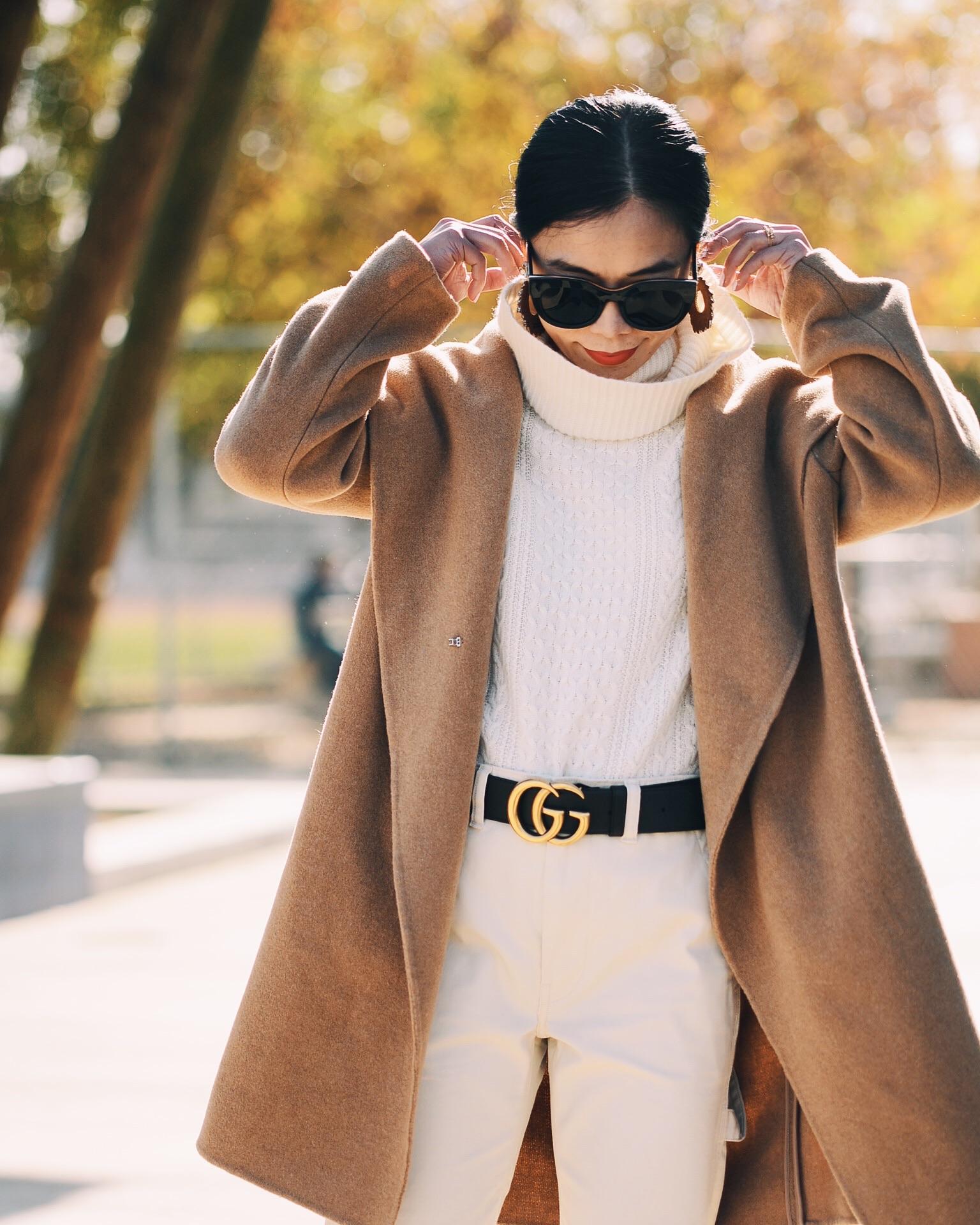 Thiết kế dây lưng Gucci rất đơn giản nhưng lại vô cùng đẳng cấp