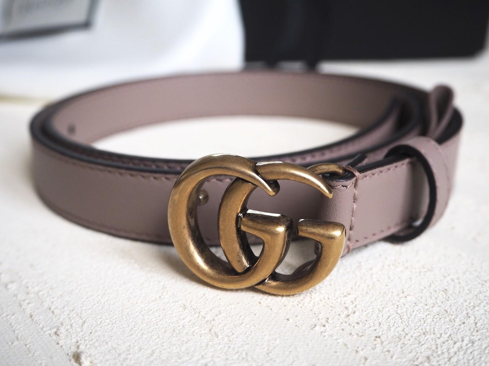 Dựa vào chất liệu dây da để phân biệt thắt lưng Gucci thật giả