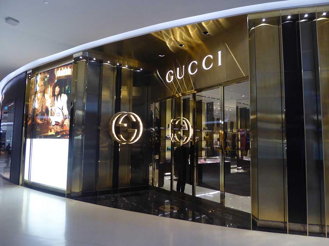 Đại lý của thương hiệu Gucci luôn được cấp giấy ủy quyền chính thức