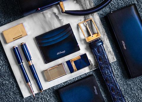 Các sản phẩm đồ da cao cấp được sản xuất bởi thương hiệu Dupont