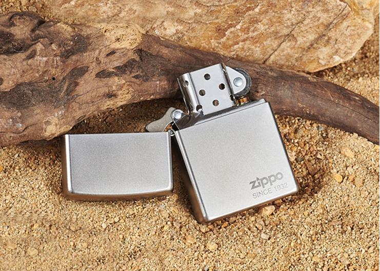 Quẹt lửa chính hãng ZiPPO Classic phổ thông tại thị trường ZiPPO An Giang