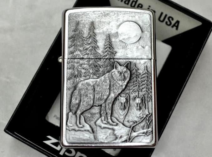ZiPPO huyền thoại người sói ZP188 ấn tượng của sự mạnh mẽ