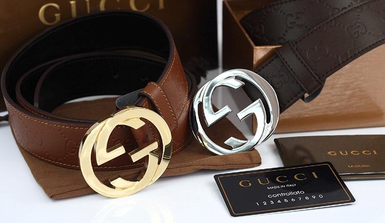 Shop bán dây nịt Gucci chính hãng sẽ đi kèm thẻ Controllato
