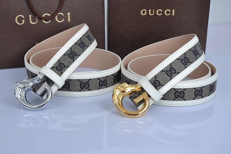 Lịch sử thương hiệu Gucci - Mẫu dây lưng Gucci thiết kế logo phá cách