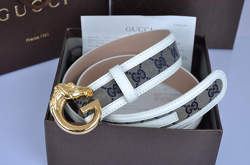 Thắt lưng Gucci với mặt khóa hình con rồng độc đáo