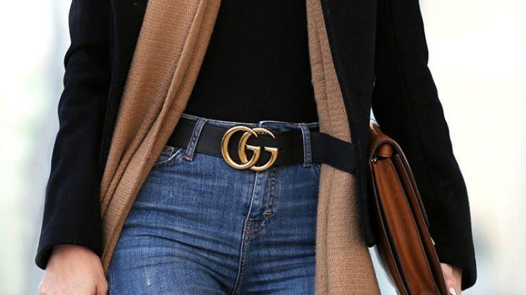 Thắt lưng Gucci nữ bản to được rất nhiều siêu sao quốc tế yêu thích