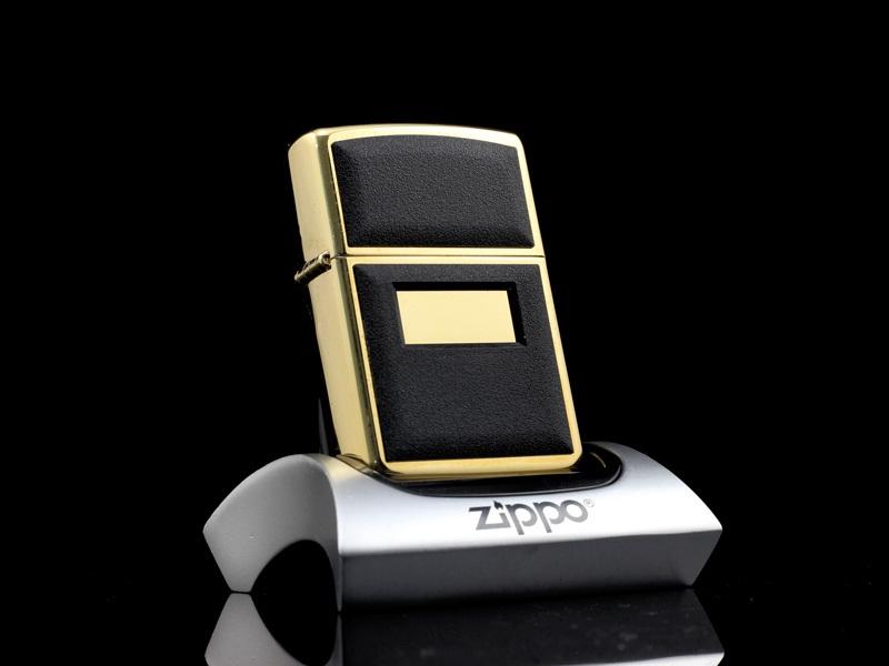 Dòng ZiPPO La Mã phần mộc đáy – phiên bản mạ xi vàng