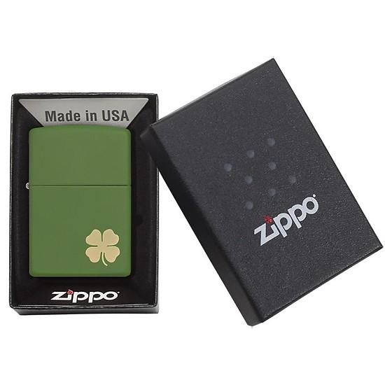 ZiPPO có 4 lá ZP237 đem đến may mắn cho chủ nhân sở hữu