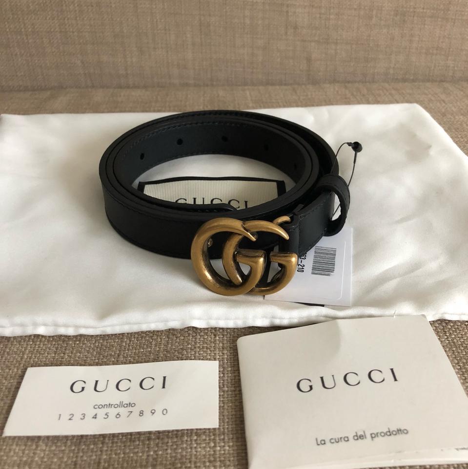 Nhận biết shop dây lưng chính hãng Gucci qua thẻ Controllato