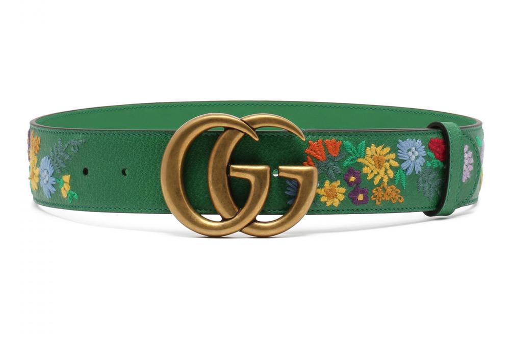 Thắt lưng Gucci hoa cực kỳ bền nếu được sử dụng và bảo quản đúng cách
