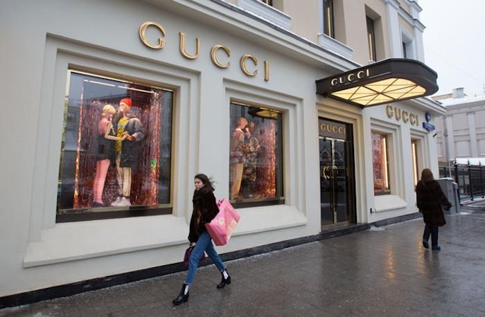 Gucci đã trở thành biểu tượng thời trang cao cấp từ khi thuộc tập đoàn Kering