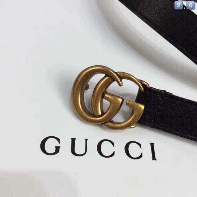 Cần lưu ý để ý kỹ dây lưng Gucci mà bạn mua
