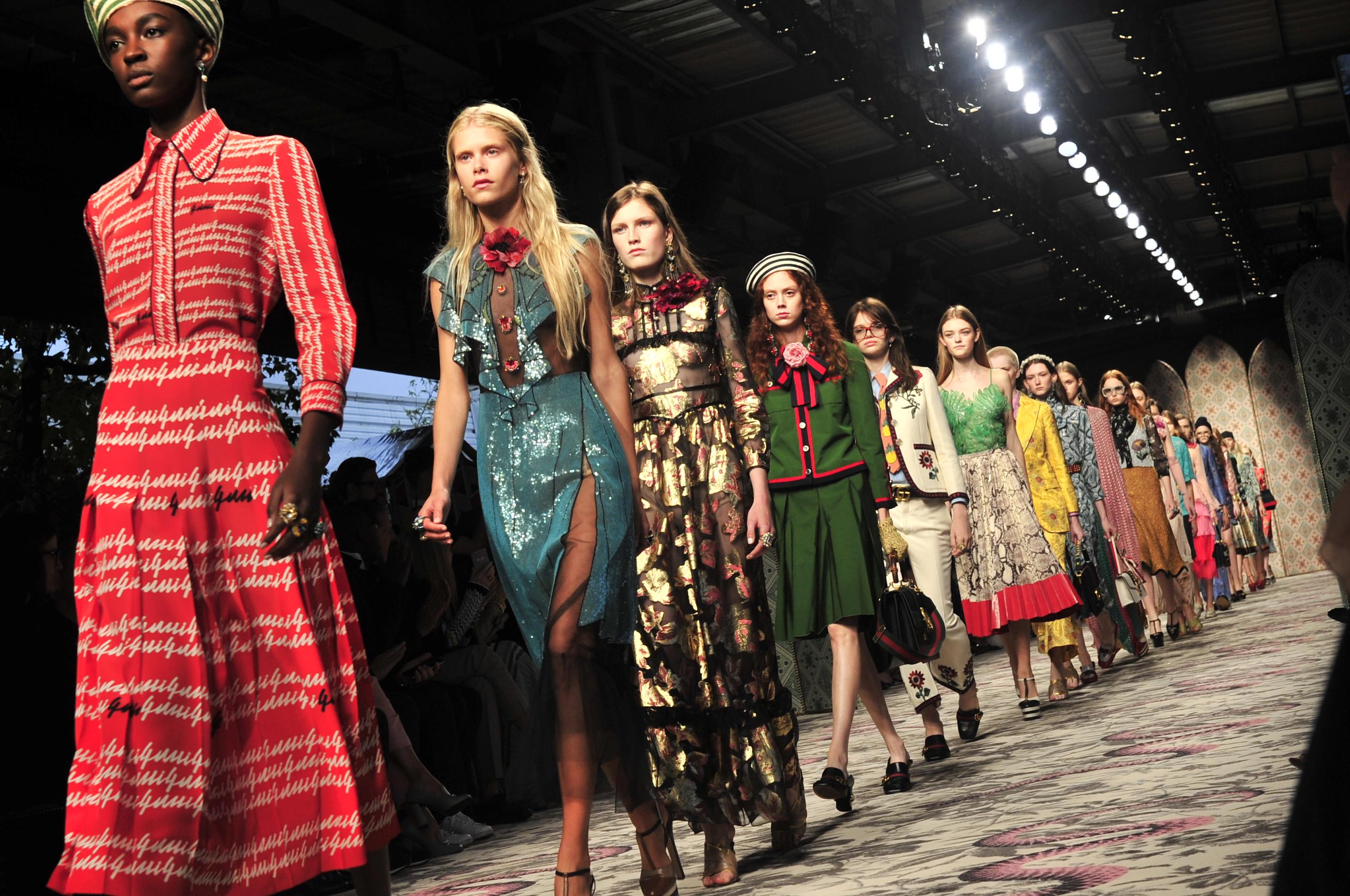 Thời trang Gucci là sự kết hợp của nhiều nền văn hóa khác nhau