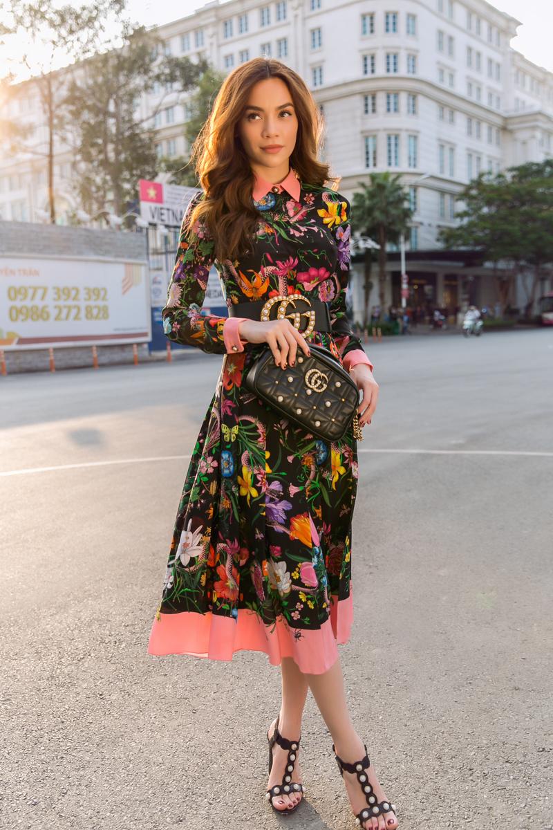 Hà Hồ từng là đại diện Gucci tại Việt Nam