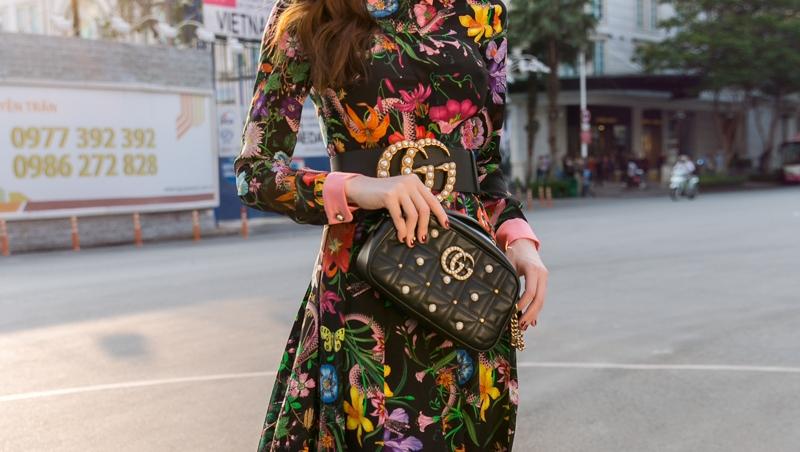 Hoàn hảo với mẫu thắt lưng Gucci nữ ngọc trai tại Việt Nam