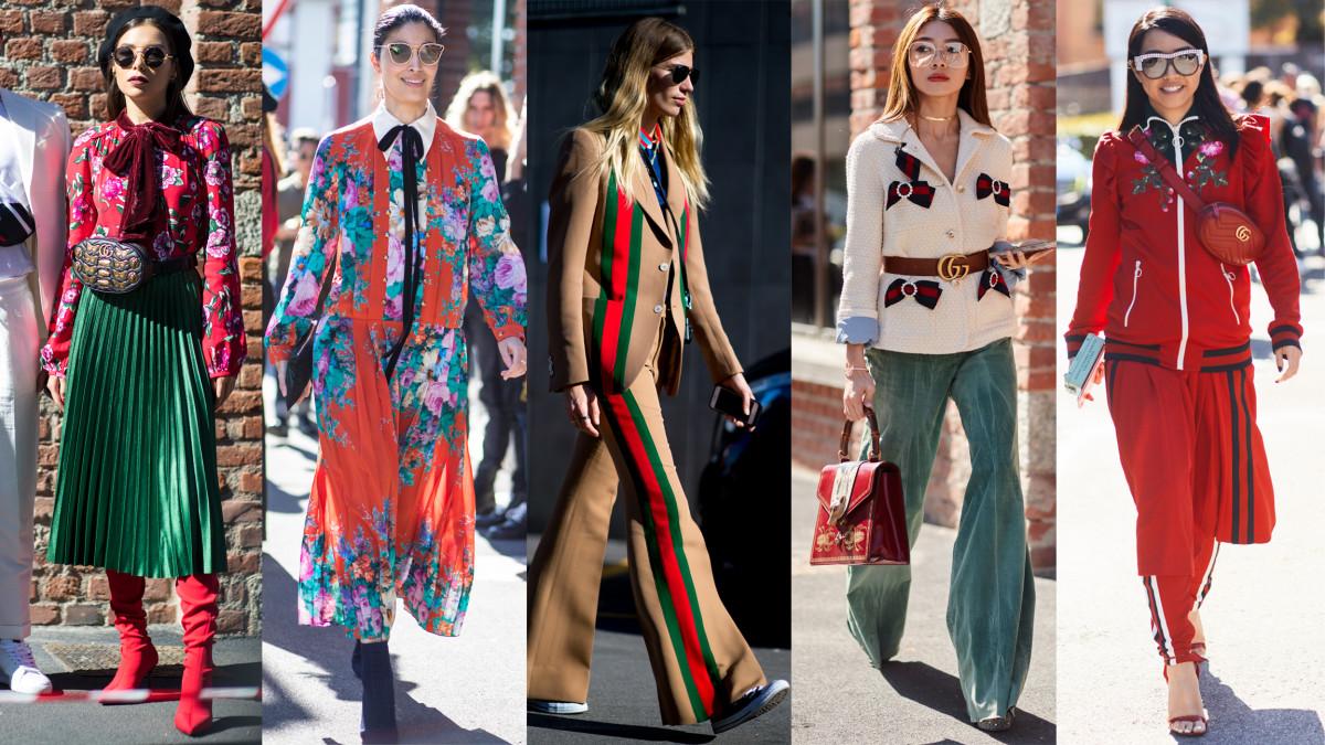 Họa tiết đa dạng, đầy màu sắc được ứng dụng triệt để trong thiết kế của Gucci