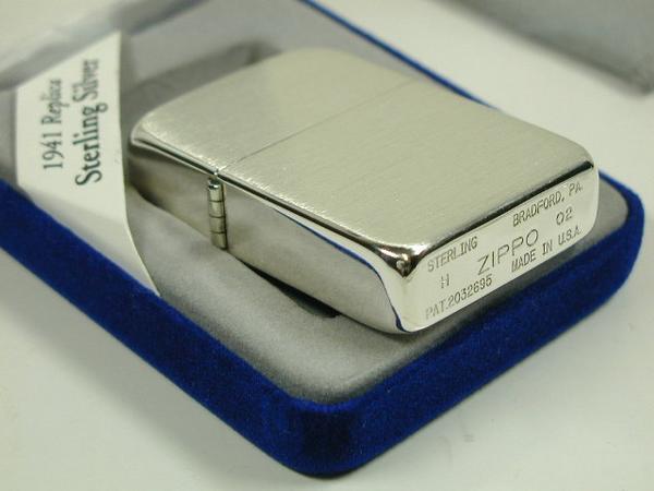 ZiPPO Sterling bạc khối