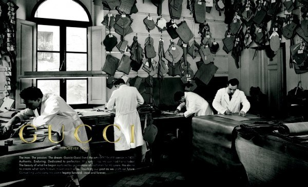 Sản phẩm khởi nguồn cho Gucci chính là vali, túi xách