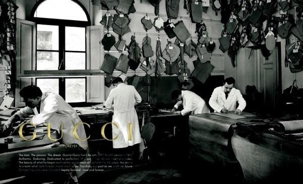 Lịch sử thương hiệu Gucci đình đám thế giới