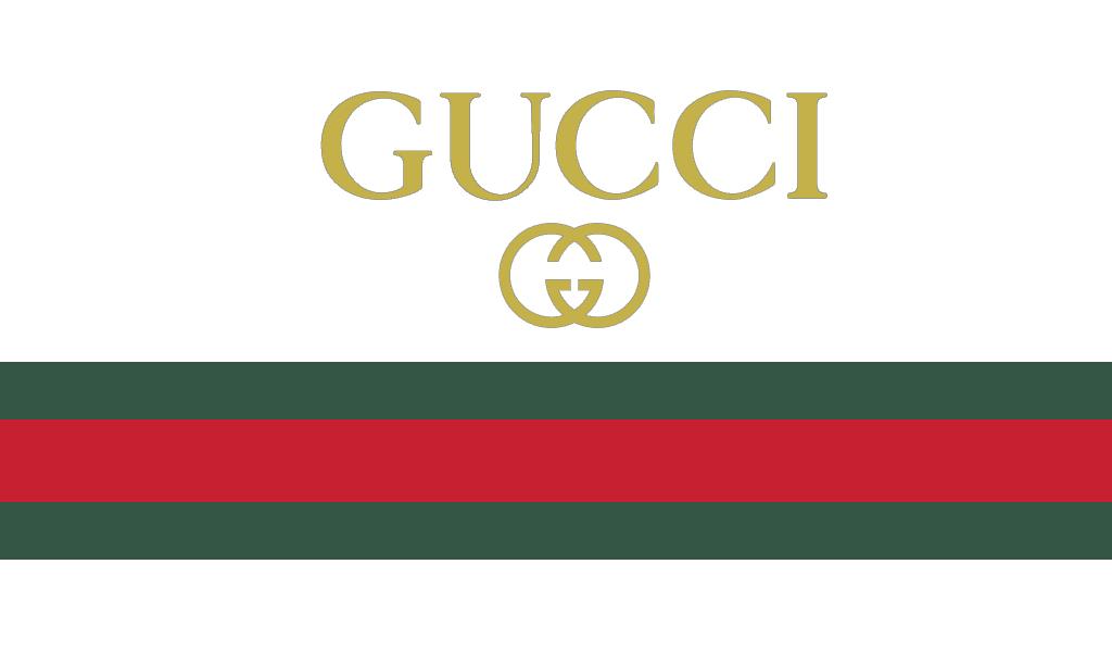 Dải ruy băng xanh đỏ là biểu tượng mọi giai đoạn lịch sử thương hiệu Guc