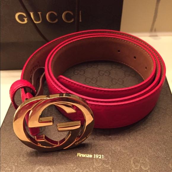 Logo đẳng cấp, ấn tượng và tinh tế trên những chiếc thắt lưng Gucci chính hãng