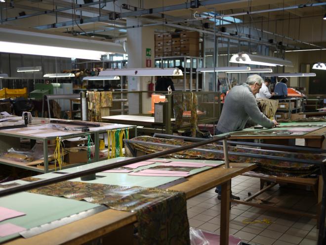Nhà máy Gucci sở hữu bí quyết riêng