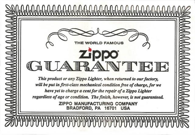 Bật lửa ZiPPO Bình Dương chính hãng được bảo hành vĩnh viễn