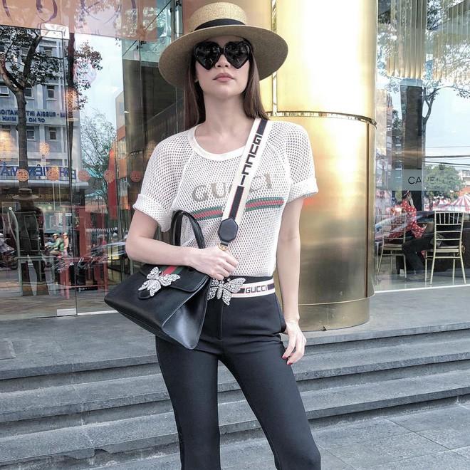 Thắt lưng da Gucci được ứng dụng rộng rãi trong trang phục thường ngày