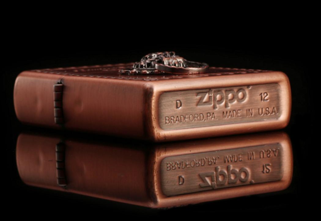 ZiPPO mãnh hổ đồng đỏ, được bán tại ZiPPO Thanh Hóa