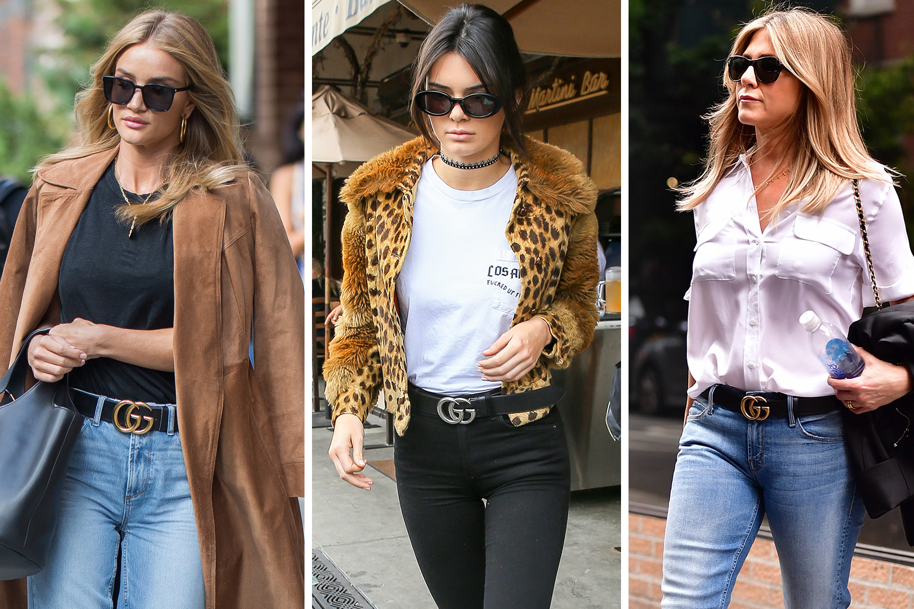 Thắt lưng Gucci có thể kết hợp cùng trang phục Vintage