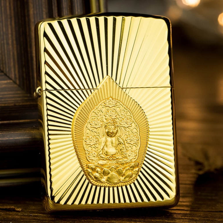 Mẫu ZiPPO mạ vàng phiên bản ZiPPO Limited
