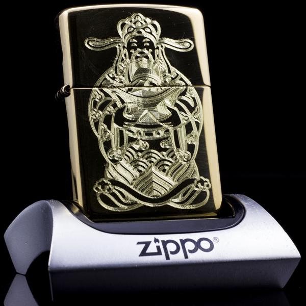 Mẫu ZiPPO thần tài, đem tài lộc đến cho cả nhà trong năm mới